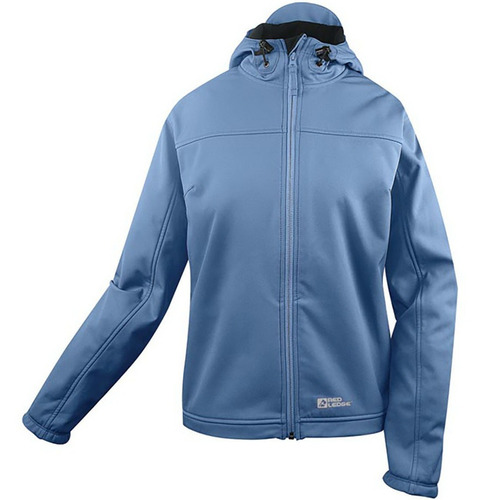 red ledge chaqueta impermeable con capucha para mujer xs