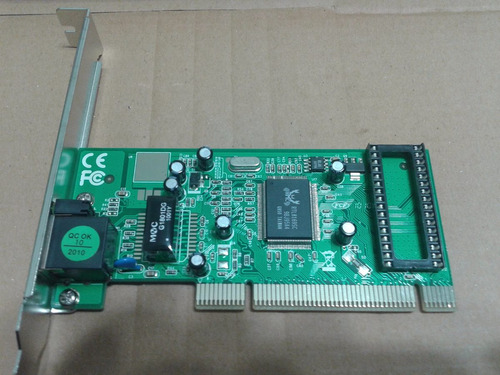 red pci placa