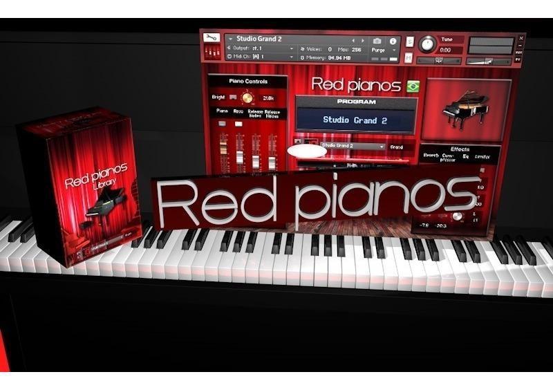 Red Pianos V1 1 (entrega Download) Kontakt