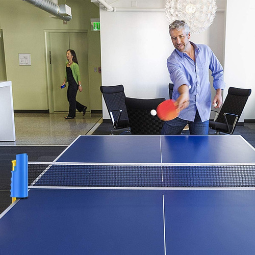 red ping pong instant profesional  soporte retráctil