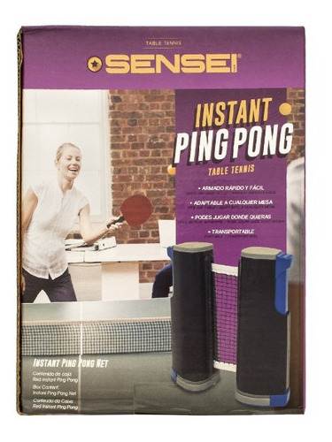 red ping pong sensei instant adaptable cualquier mesa olivos