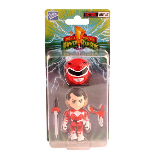 red power ranger crystal the loyal subjects comic con 2015