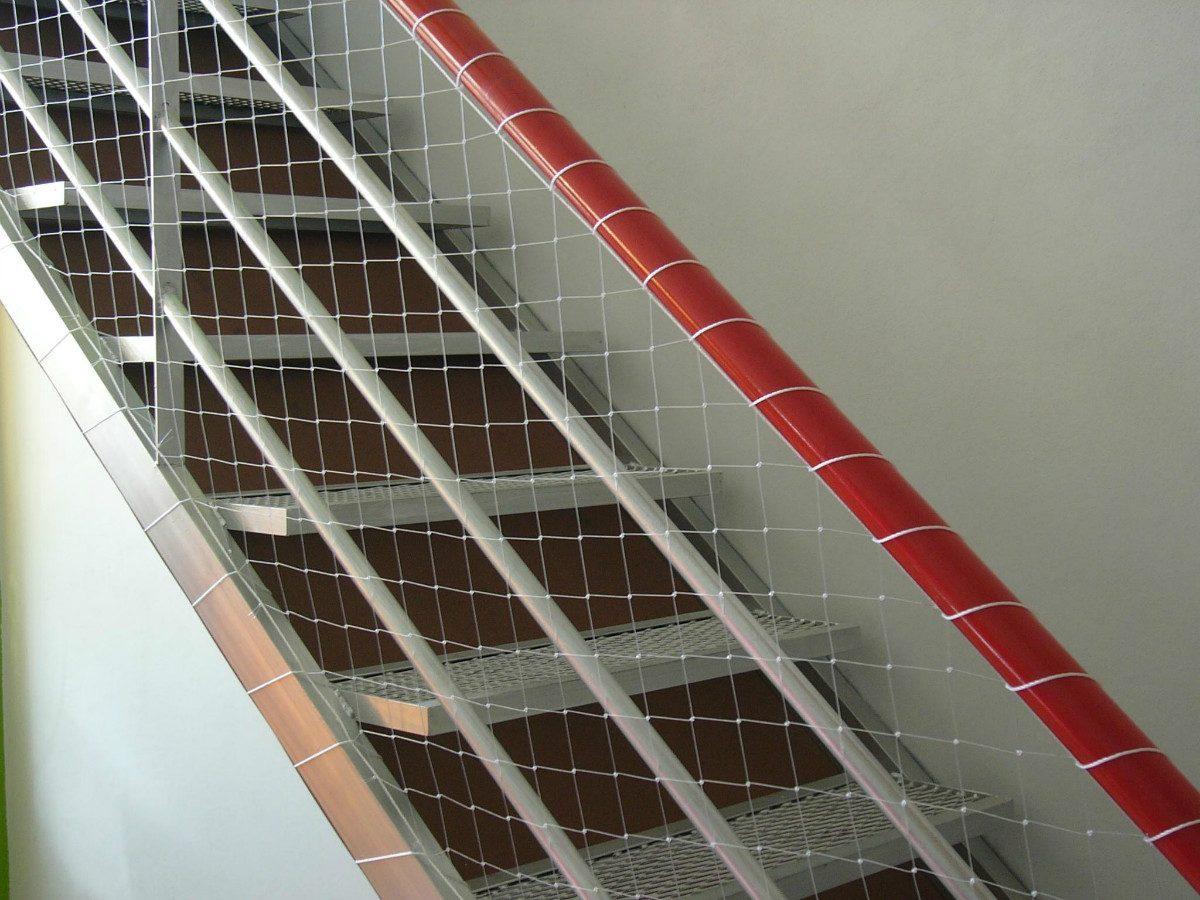 red proteccion instalacion balcones ventana escalera terraza
