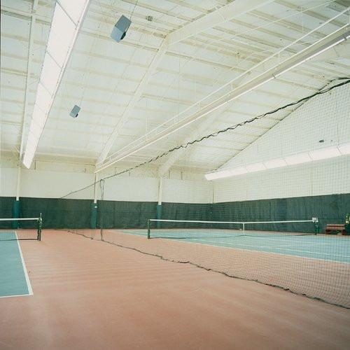 red protectora divisora tenis basquetbol fútbol court divide