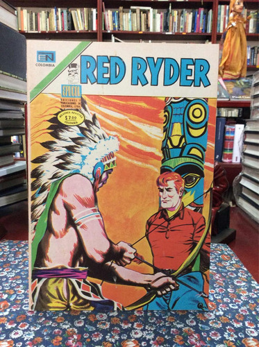 red ryder año i no 10 1975 comic antiguo vaqueros historieta