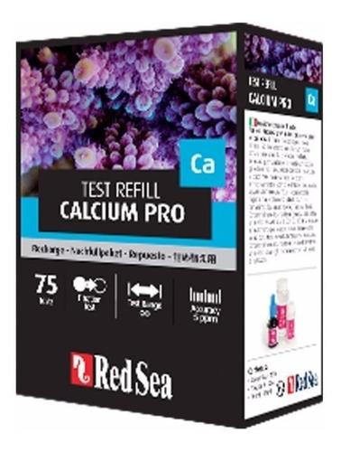 red sea teste de cálcio pro refil val02/2021