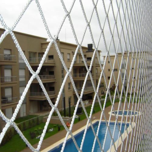 red seguridad balcon