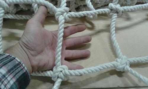 red trepadora soga algodon