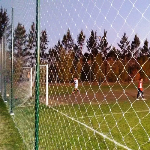red verde cerramiento perimetral techo cancha futbol pelota - entrega inmediata. importada filtro uv