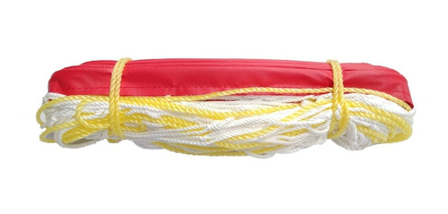 red voleibol blanca hilo grueso