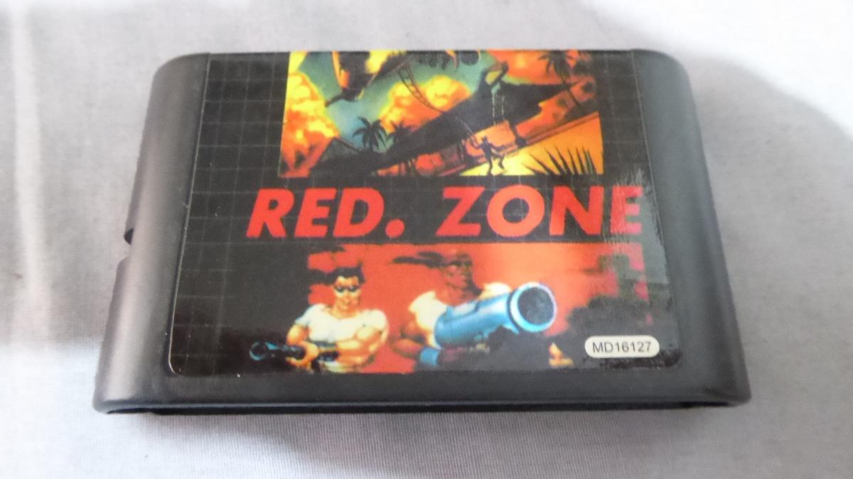 red zone sega genesis