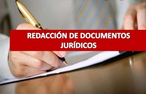 redaccion documentos juridicos