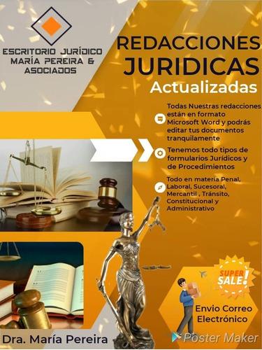 redacciones juridicas de derecho civil