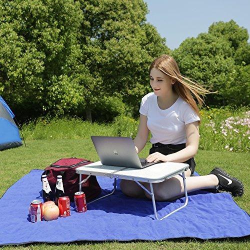 redcamp mesa para computadora portátil para cama plegable b
