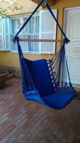 rede cadeira  algodão - várias cores - artesanal