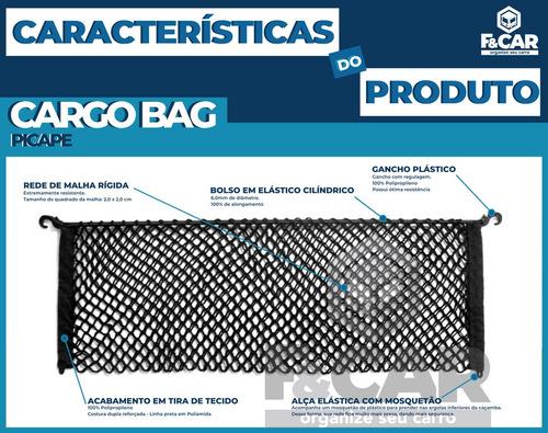 rede cargo bag caçamba picape vw saveiro todas as versões