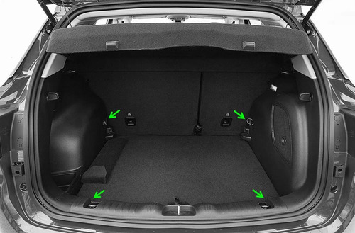 rede de carga porta objetos porta malas jeep compass bordado