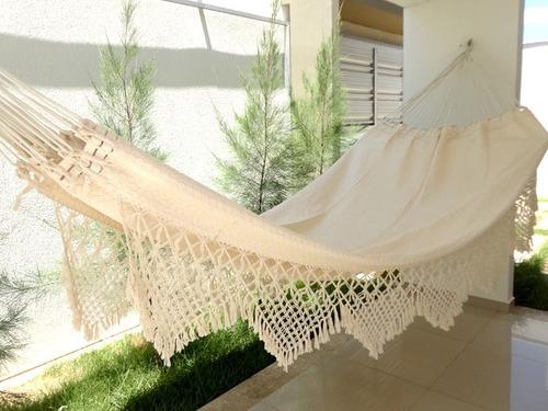 rede de dormir casal artesanal