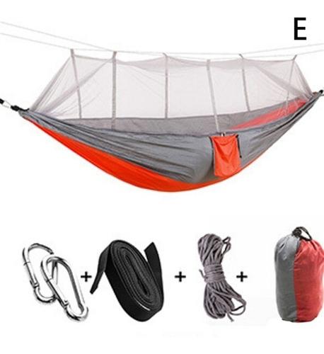 rede de dormir descanso com tela mosquiteiro 300 kg casal