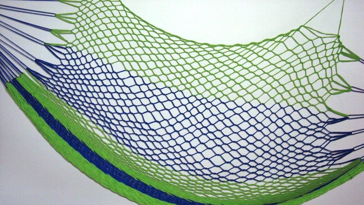 Rede de dormir nylon camping r 49 89 em mercado livre - Redes de pesca decorativas ...