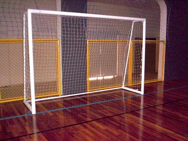 Rede De Futebol Salão (futsal) - Fio 4 Seda (par) - R  179 8fc955d794bed