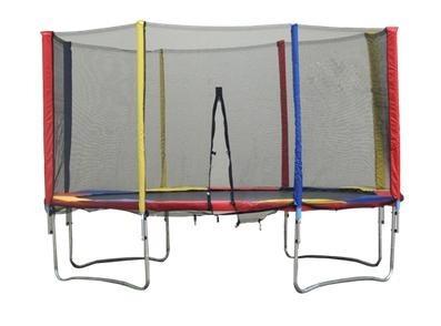 rede de proteç para cama elástica chinesa 3.10mts. 6 hastes.