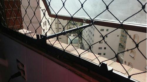 rede de proteção em janelas sacadas piscinas e escadas