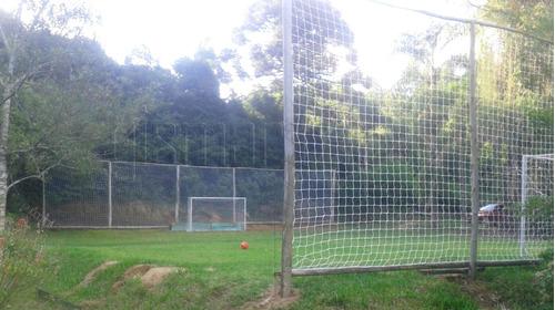 rede de proteção p/ lateral de campos fio 4mm malha 15cm