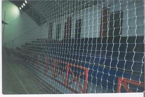 rede de proteção p/ lateral de quadras fio 4mm malha 12cm