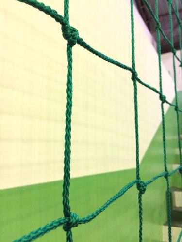 rede de proteção p/ lateral quadra/campos fio3 malha 10 seda