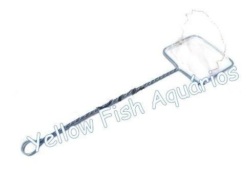 rede delfin para aquário nº 6  22cm x 27cm - reforçada full