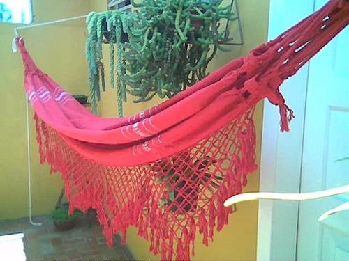rede descanso - solteiro - várias cores - fio a fio