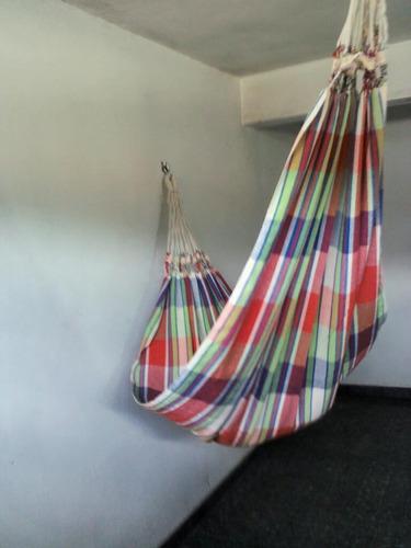rede dormir  - solteiro - são paulo - colorida - tear
