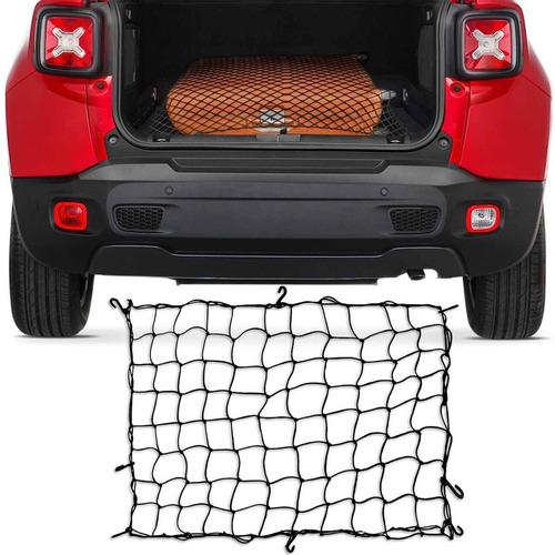 rede elástica porta malas caçamba bagageiro 90 cm x 110 cm