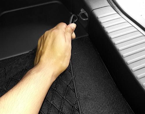 rede elástica porta objeto porta malas compass bordado jeep