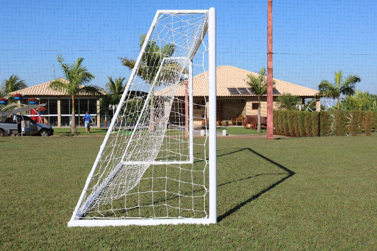 Rede Futebol Campo Standard Em Nylon d21ed975aa539