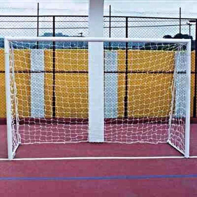 5aeee8bc9 Par Rede De Gol Futsal, Futebol Salão F. 4mm, Proteção U.v. - R$ 120 ...