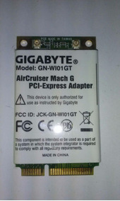 GIGABYTE AIRCRUISER WIRELESS ADAPTER WINDOWS XP DRIVER