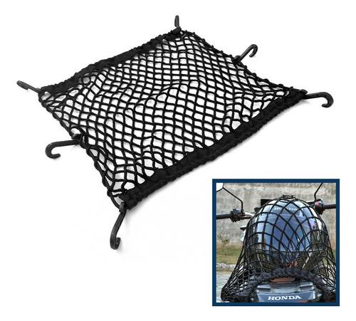 rede grande aranha moto capacete 55x55 cm