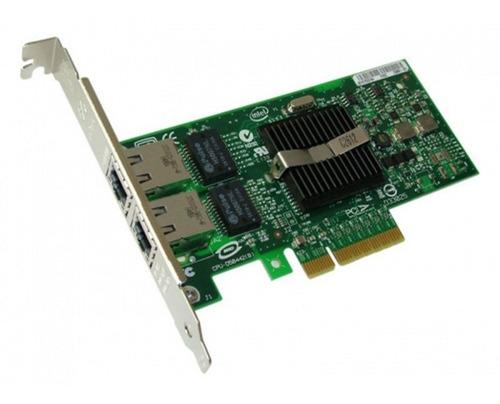 rede intel pro/1000 duas portas rj45 expi9402pt pci-e 4x 1gb
