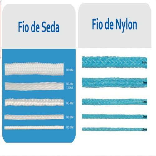 rede oficial futebol suíço fio 2 (nylon) 5 m - par