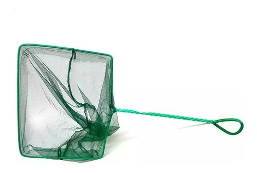 rede p peixes aleas aquários 9,5x7,5cm cabo 23cm redinha