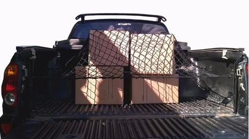 rede para caçamba de pickups cargo big g (trava carga)