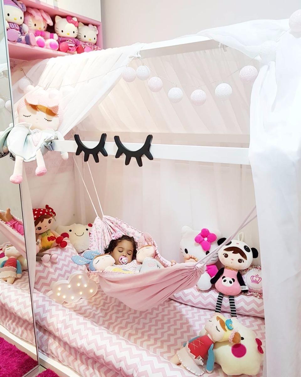 Rede para cama montessoriana crian a bebe montessori - Camas para bebe ...