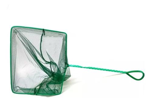 rede para peixes aleas aquários nº10 24,5x20cm cabo 33cm