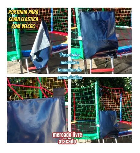 rede para pula pula de 2.44 mts+08 pés antiderrapante+brinde