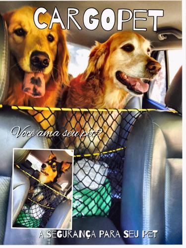 rede para transporte de cachorros - cargo pet