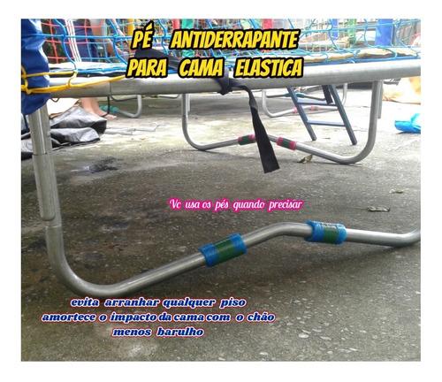 rede p/cama elastica de 4.00 á 4.27 +08 pés antiderrapante .