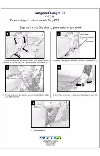 rede porta objetos central parte interna no carro