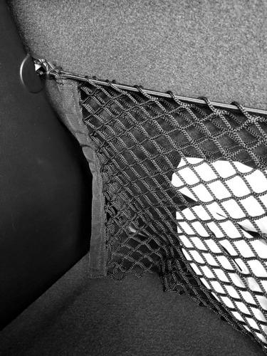 rede porta objetos organizadora do porta malas hyundai hb20